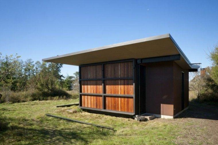 casa modular de aspecto cerrado mini casas Pinterest Casas