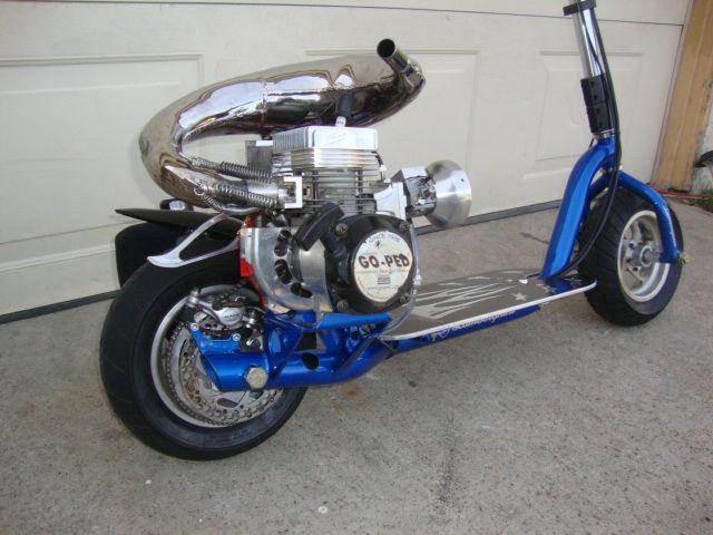 Pin by TheCarMan on Goped | Kick scooter, Mini bike, Motorbikes