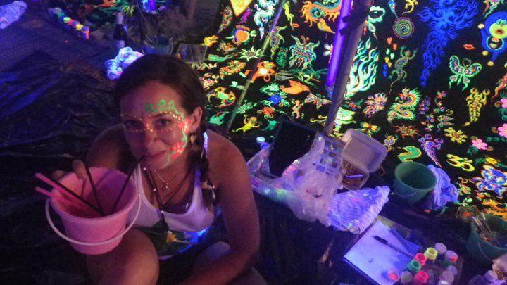Full Moon, Black Moon, Half Moon, Jungle Party in Koh Phangan, Thailand