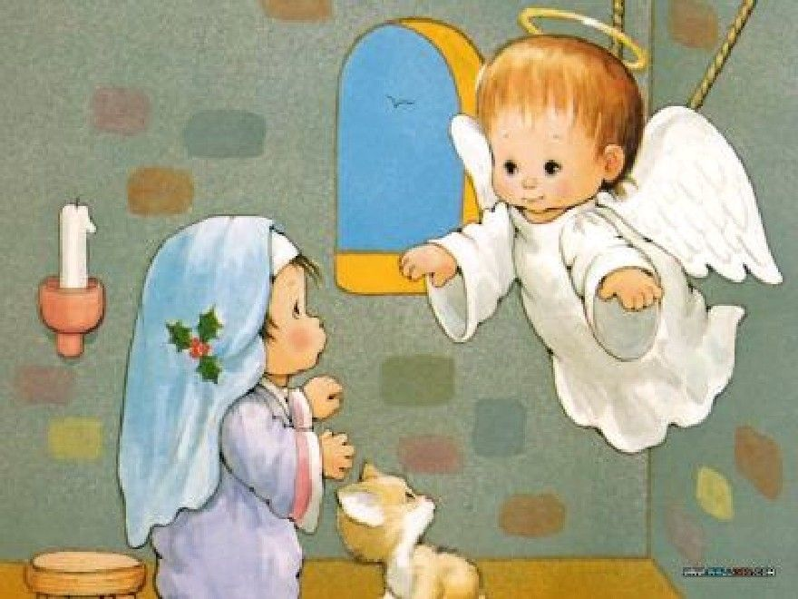 Pinterest Imagenes De La Anunciacion Del Angel A Maria Para Ninos Buscar Con Google Historias De Navidad La Anunciacion De Maria Cancion De Navidad
