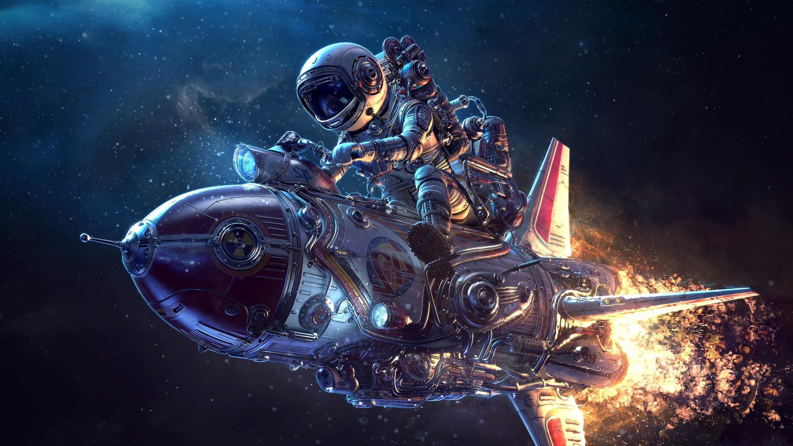 Sci Fi Spaceship Wallpaper