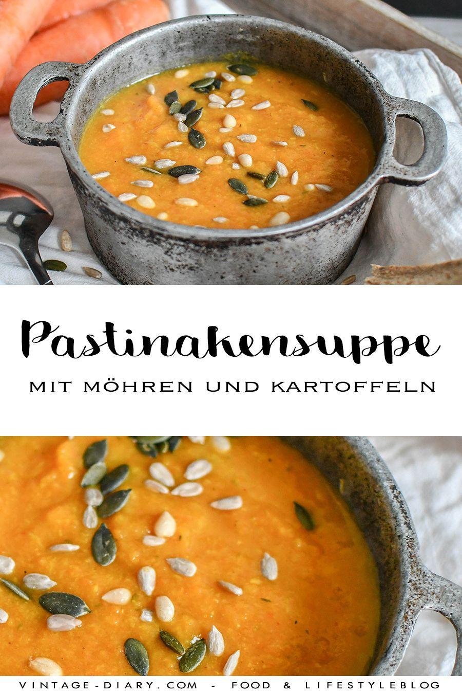 Pastinakensuppe mit Möhren und Kartoffeln - vintage-diary