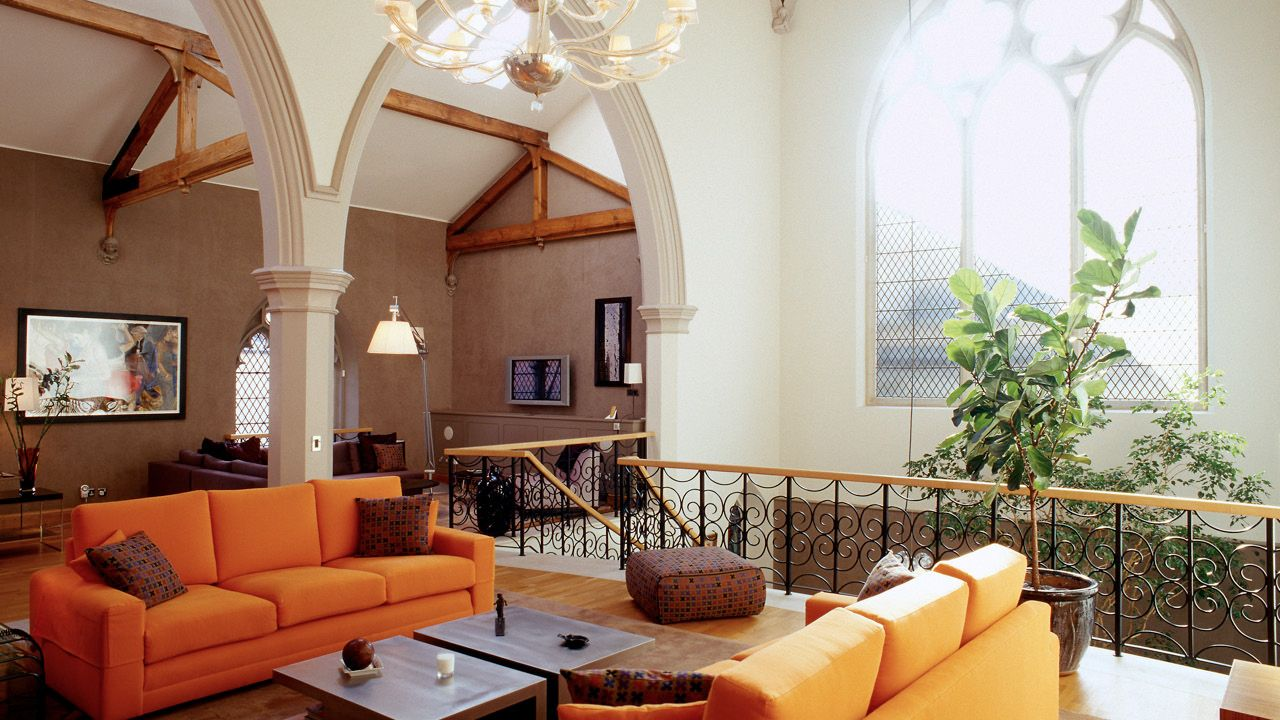 The Living Room Church huge 200-year-old church converted into single-family dwelling