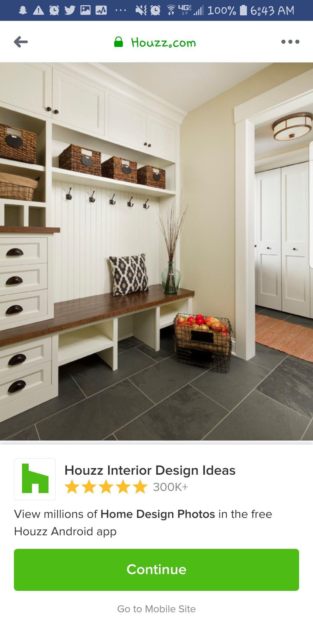 Pin By Tonya Skelton On Pool Room Houzz Interior Design Mudroom Flooring Design