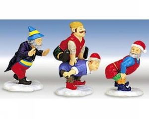 Elves At Play, set of 3 2000