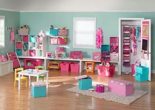 Lindos colores y buen acomodo | Salas de juegos | Pinterest ...