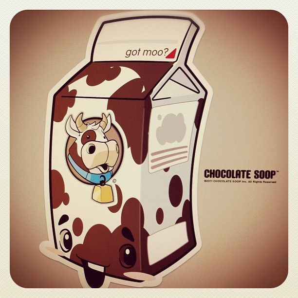 Cocoa Moo' complete  #milk #chocolate #vector #adobe
