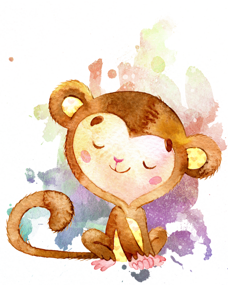 Set of Monkey Printables for Nursery Rooms (Free) | Malen ...