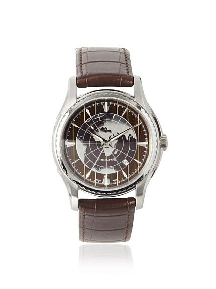 Hamilton Mens H34615591 Aquariva GMT Brown Stainless Steel Watch, http://www.myhabit.com/redirect?url=http%3A%2F%2Fwww.myhabit.com%2F%3F%23page%3Dd%26dept%3Dmen%26sale%3DA2B3NBF1G8ESRK%26asin%3DB002LDAYNM%26cAsin%3DB002LDAYNM