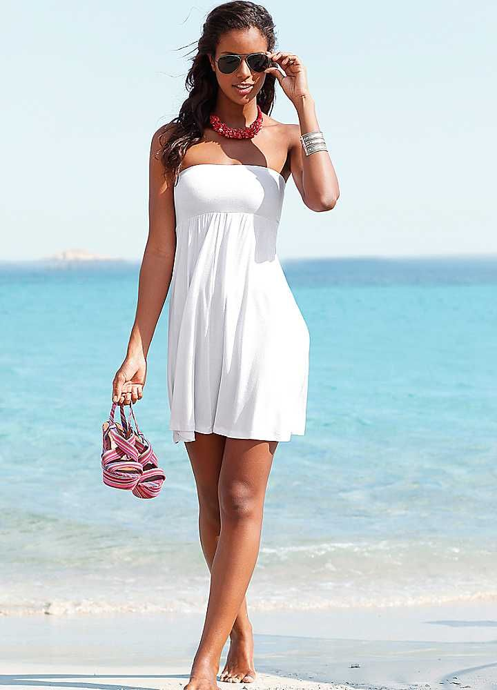10  images about white beach dress on Pinterest  Cover up White ...