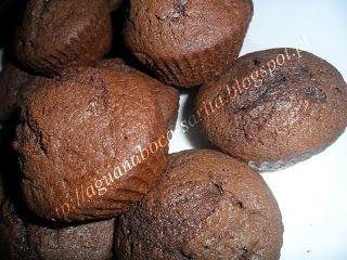 Queques de chocolate
