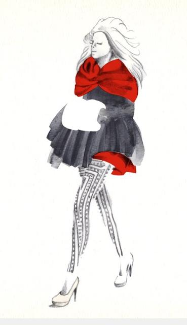A Catwalk Illustration Blog by Vicky Ink.
