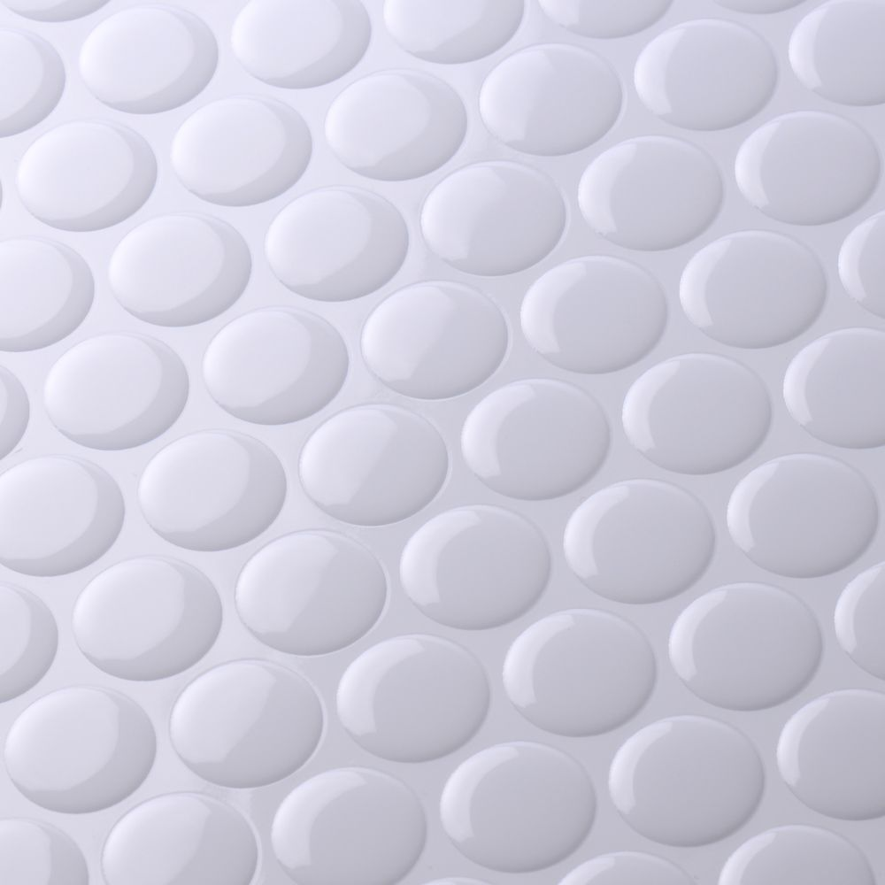Round Penny Mosaic Tile Sticker Mosaic Tile Stickers Peel And Stick Tile Mosaic