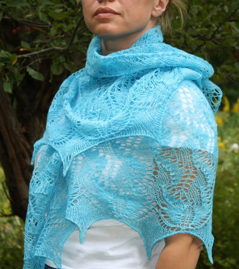 Lace Knitted Shawl Patterns Free Easy The Shawl Is Named Liliana