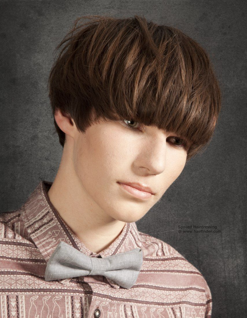 pin by men's hairstyles club on cool funky haircuts | bowl