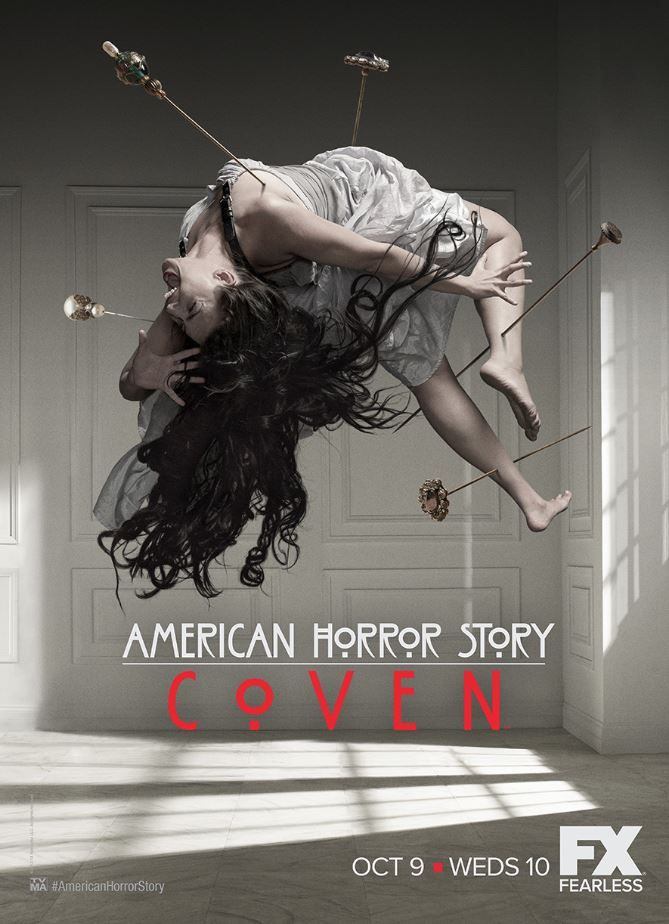 American Horror Coven Poster Photography Fx Ad Advertising Campa American Horror Story Coven American Horror Story Seasons American Horror Story Movie