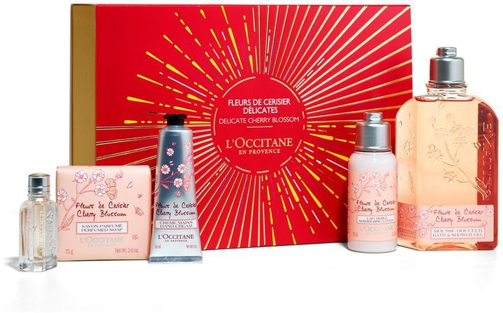 L Occitane Cherry Blossom Gift Collection Cherry Blossom Hand Cream L Occitane Skincare Set