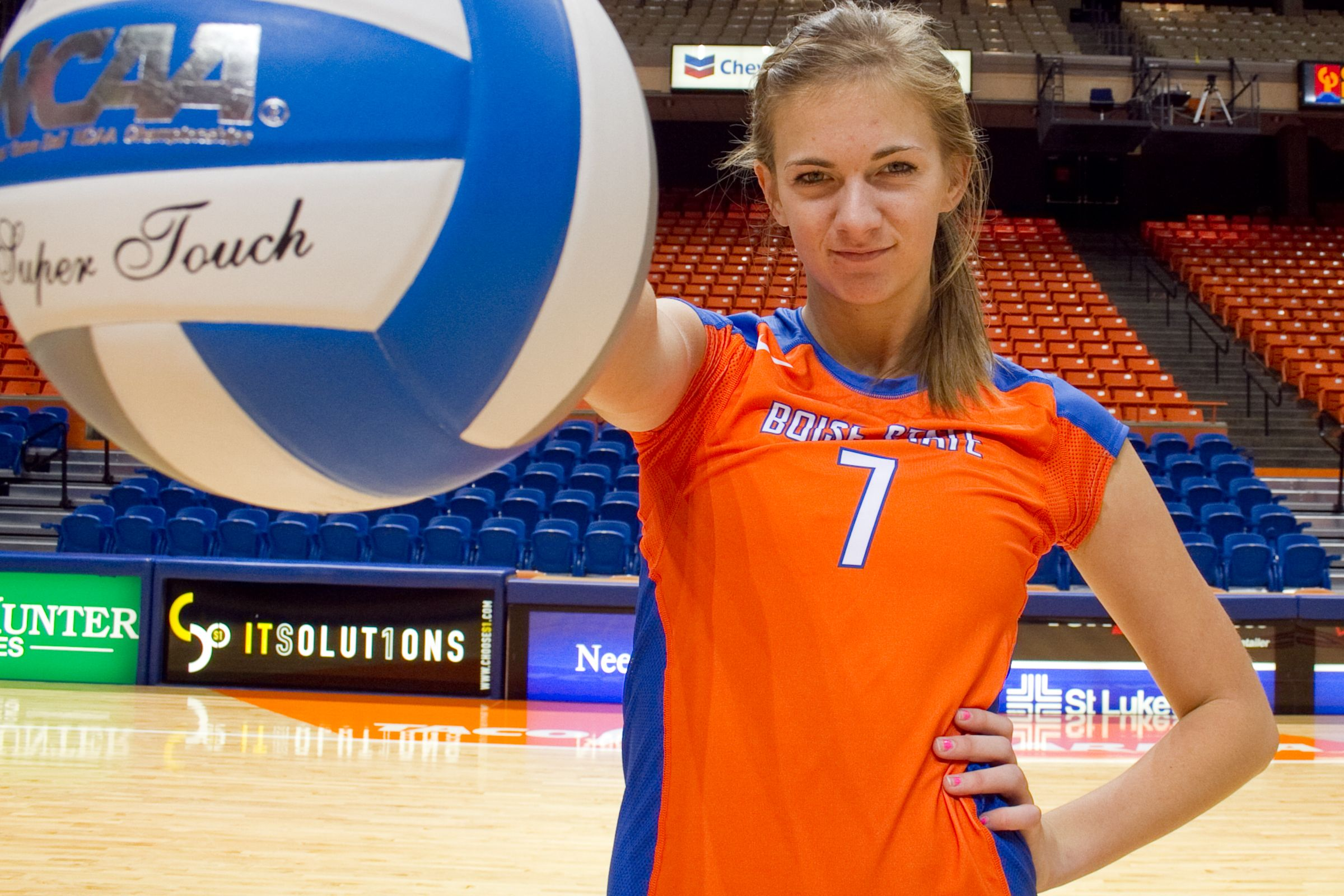 Boise State Volleyball Ball Exercises Boise State Football Boise State