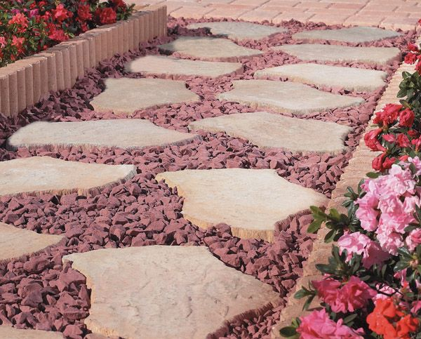Home Depot Patio Bricks | Dry Laid Stone Walk Requires A Bit Of Planning And
