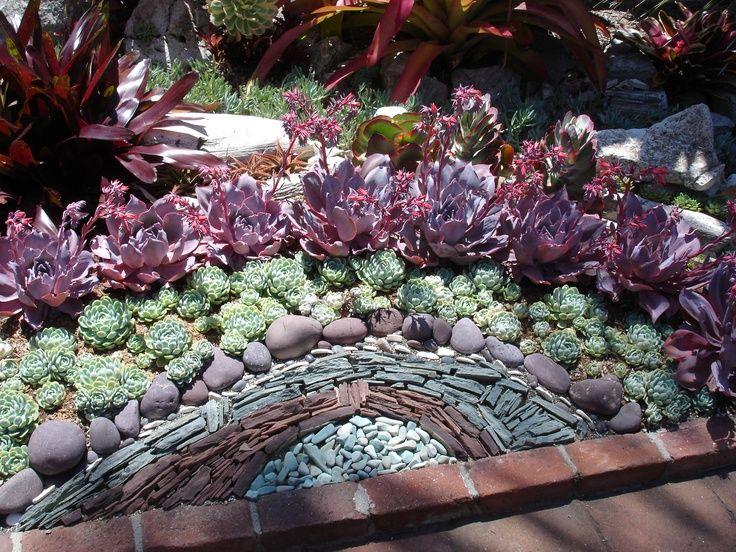 Attirant Cactus U0026 Succulent Rock Garden Design