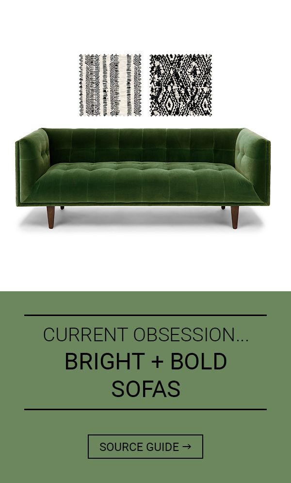 Cur Obsession Bright Bold Sofas
