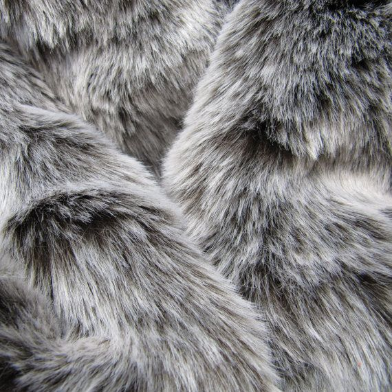 Winter Wolf Dark Chocolate 25mm Pile Synthetic Faux Fur Fabric With Frosted Tip 8 00 Via Etsy