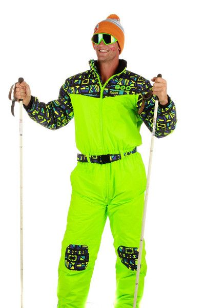 d1035d1a Shinesty's Day-Glo-A-Palooza Neon 80s Ski Suit   Get your vintage ...