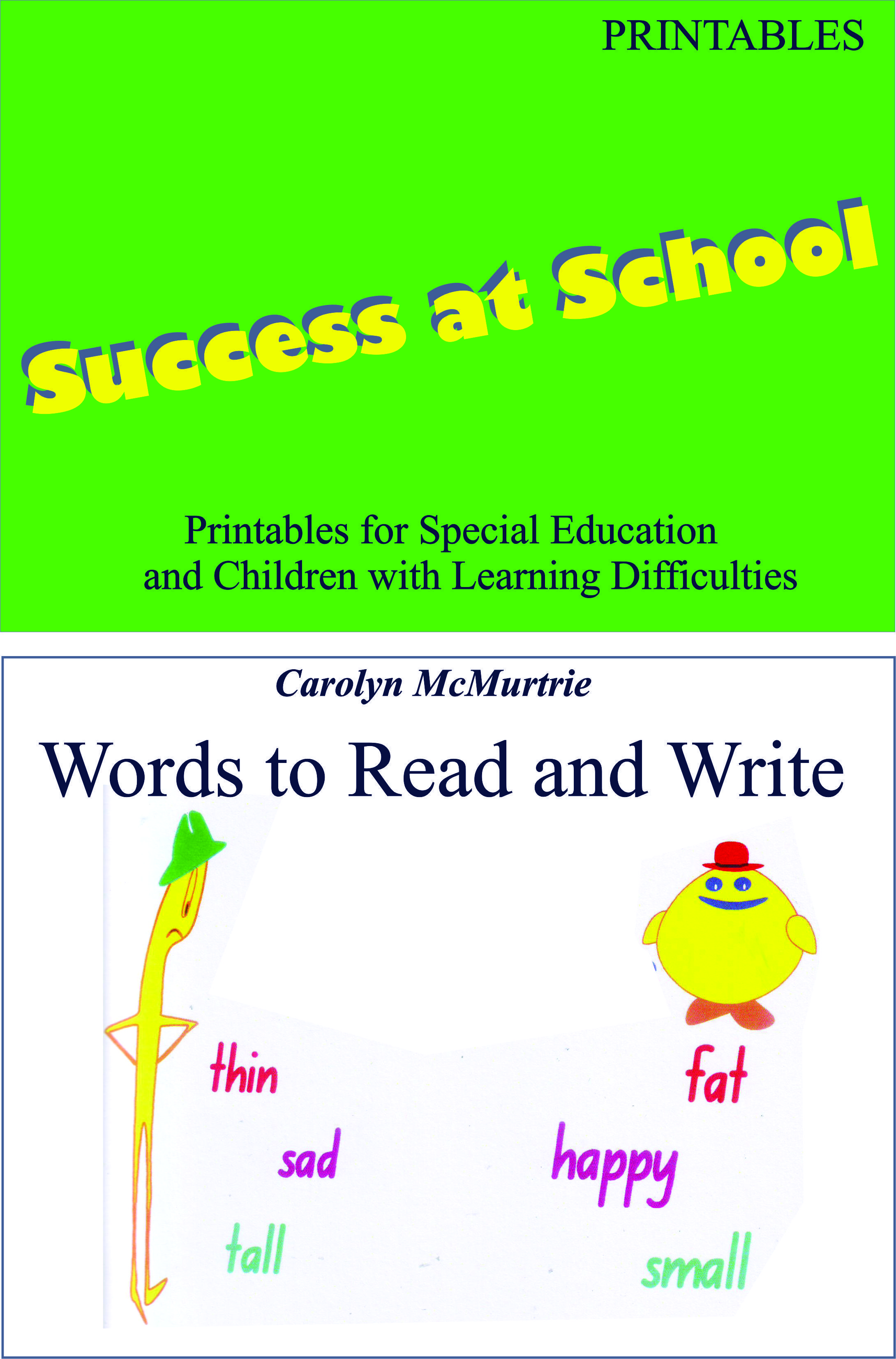 Words To Read And Write