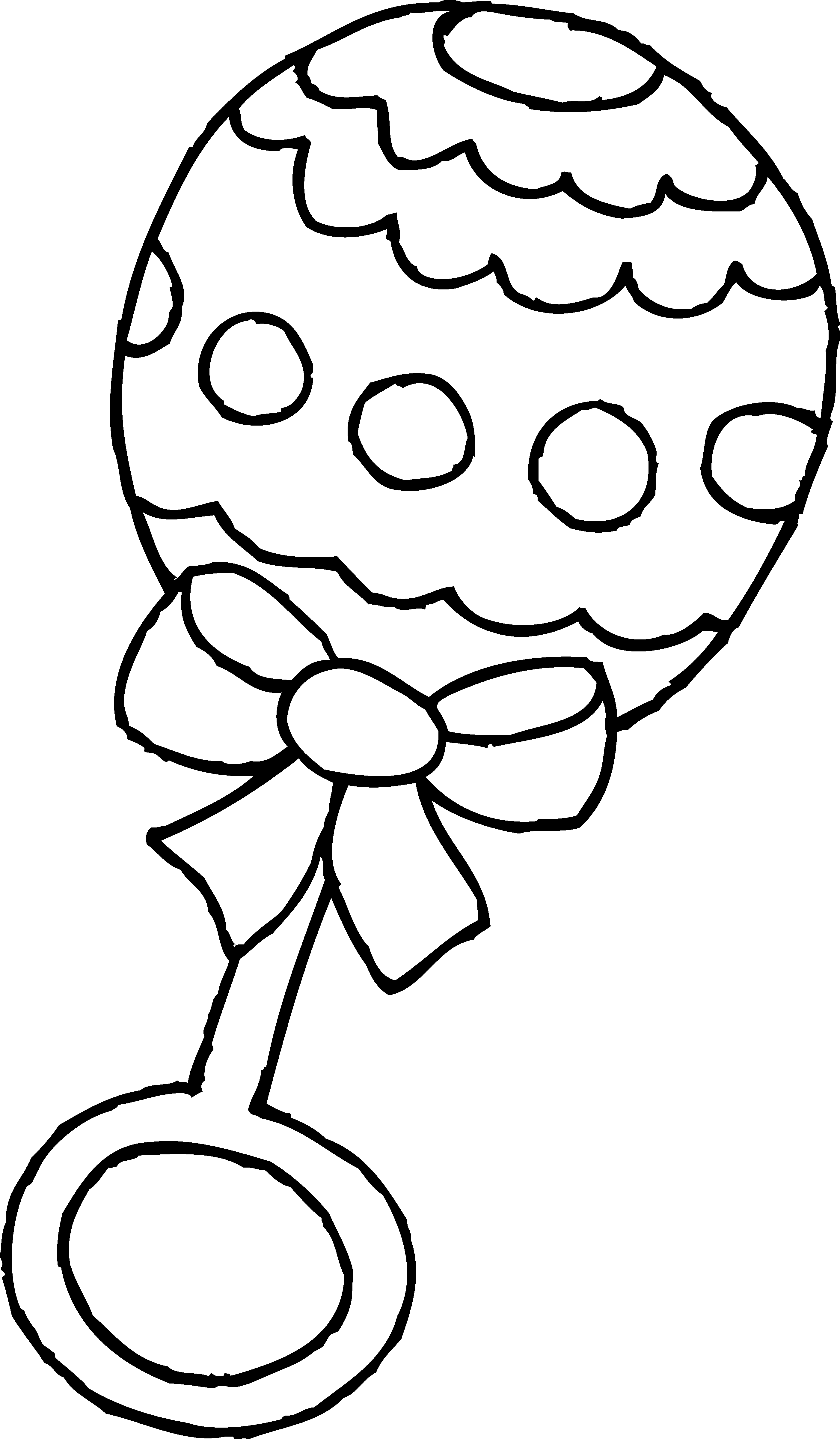 Baby Rattle Clip Art Black And White