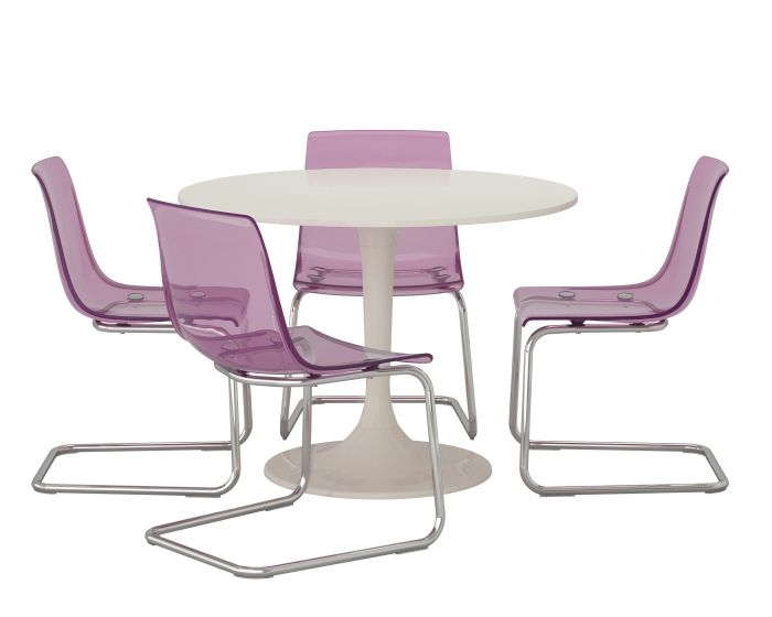 2014 pantone color of the year radiant orchid dine in style with tobias c - Table et chaises ikea ...