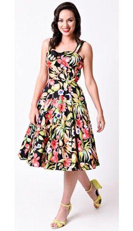 Hawaii style sun dresses