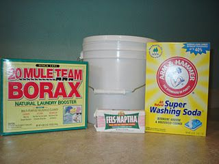 how to make your own laundry detergent. green style.