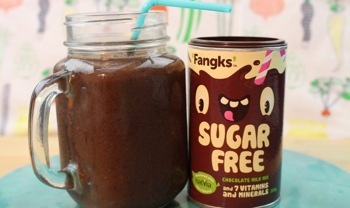 Chocolate Hidden Veg Smoothie. Great for fussy eaters!