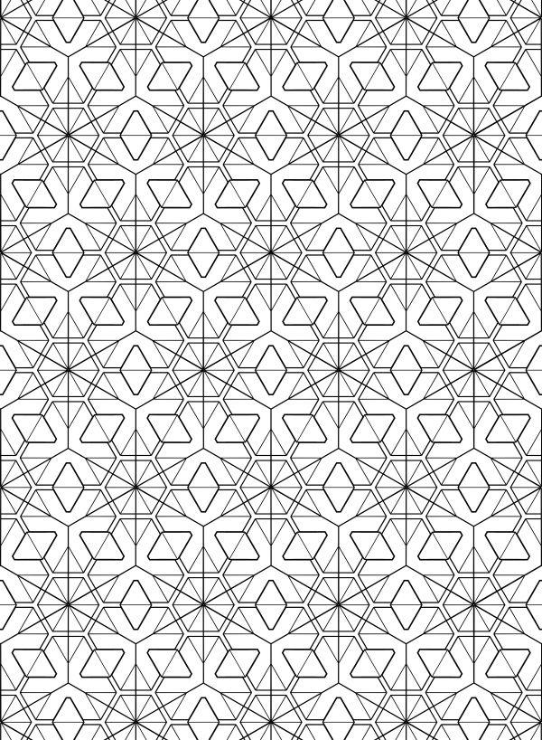 let\'s tessellate | Sacred Geometry in 2018 | Pinterest | Pattern ...
