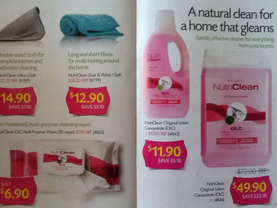 Nutri clean natural cleaning products cleaning shampoo