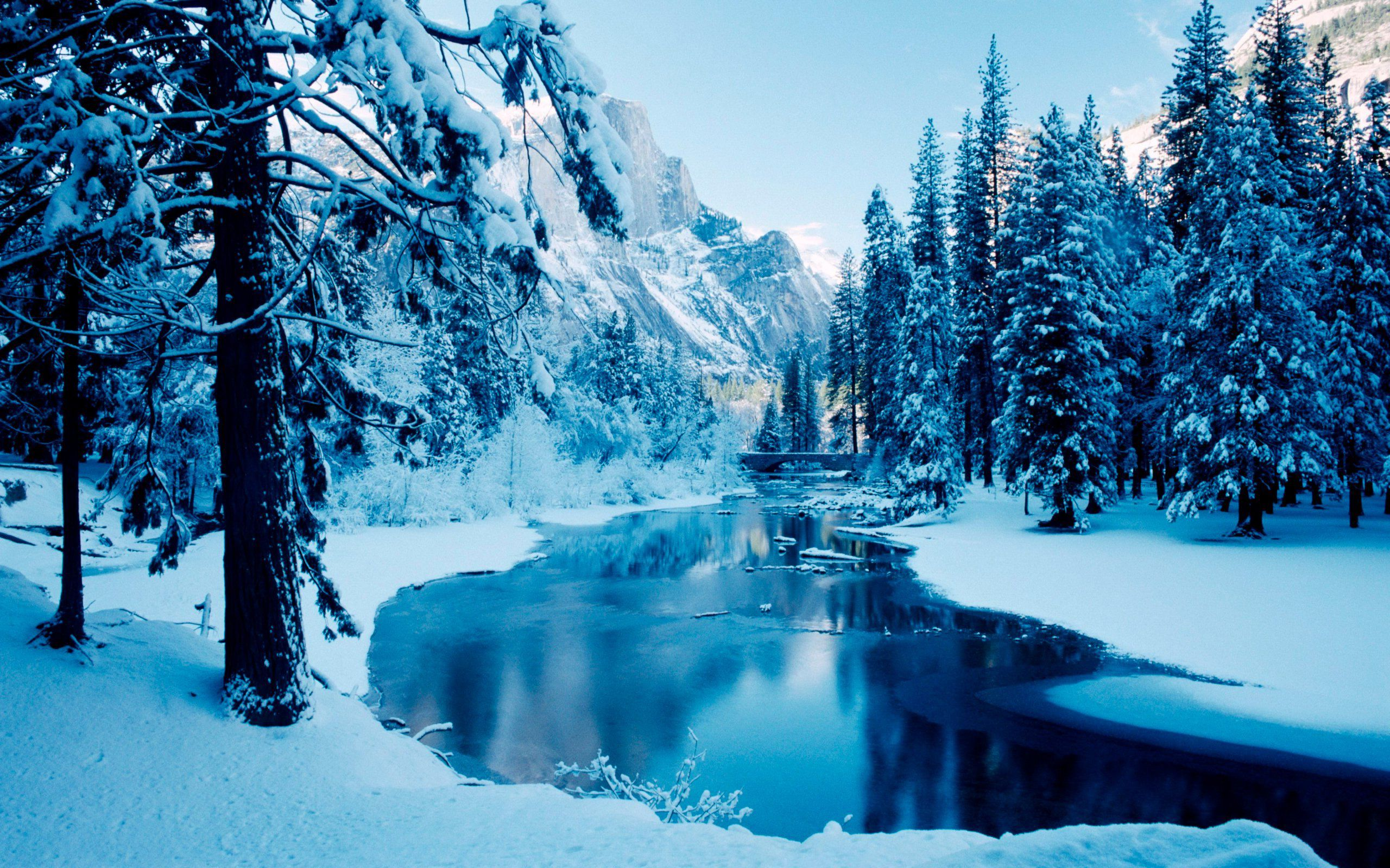 Beautiful Winter Scenes Desktop Wallpaper Winter