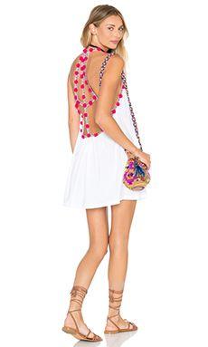 Pitusa Pom Pom Dress In White From Revolve Com Pom Pom Dress Fashion Chic Resort Wear