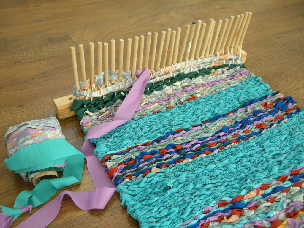 Peg Weaving Ideas