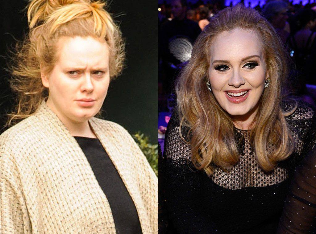 Adele From Stars Without Makeup Celebs Without Makeup Celebrity Makeup Without Makeup
