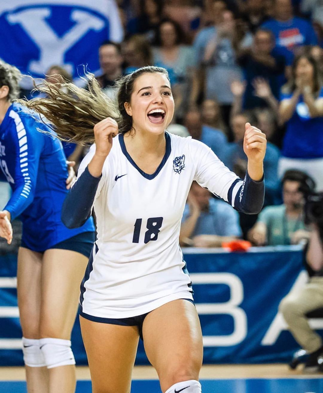 Byu Women S Volleyball On Instagram What Do Marybeth181124 And Uswnt Have In Common They Re Both World Champio Women Volleyball Uswnt Volleyball