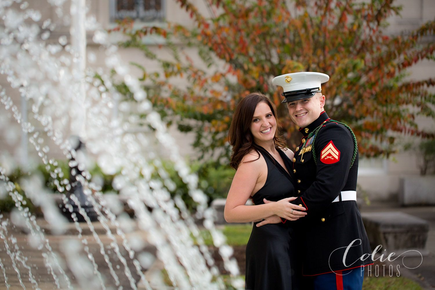Wilmington Nc Photographer Military Family Pictures Usmc Dress Blues Military Couples Military Family Pictures [ 1000 x 1500 Pixel ]