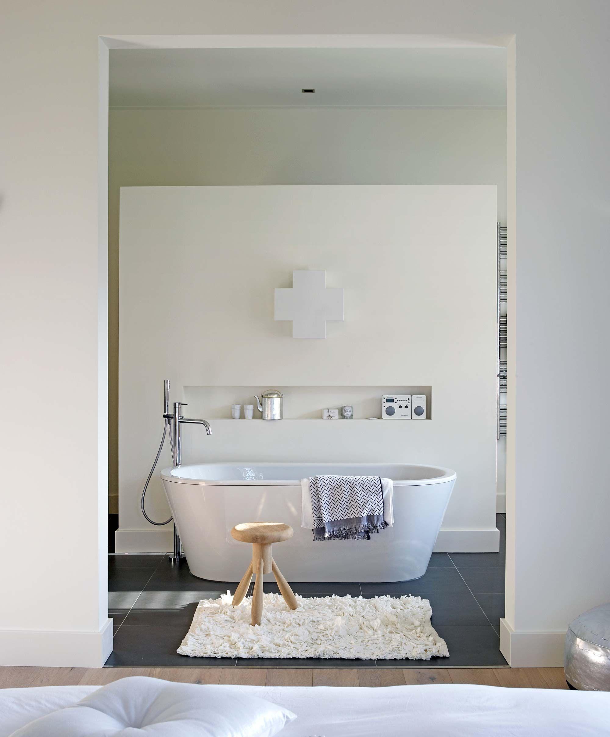 duurzame badkamer met bad collage badkamer pinterest bad