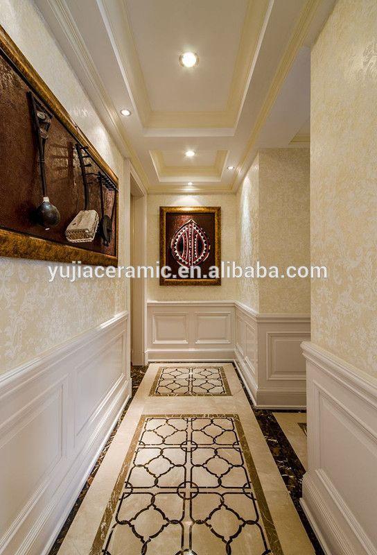 Polished Porcelain Hall Floor Tiles Patterns 1200x1800 Mm Hall