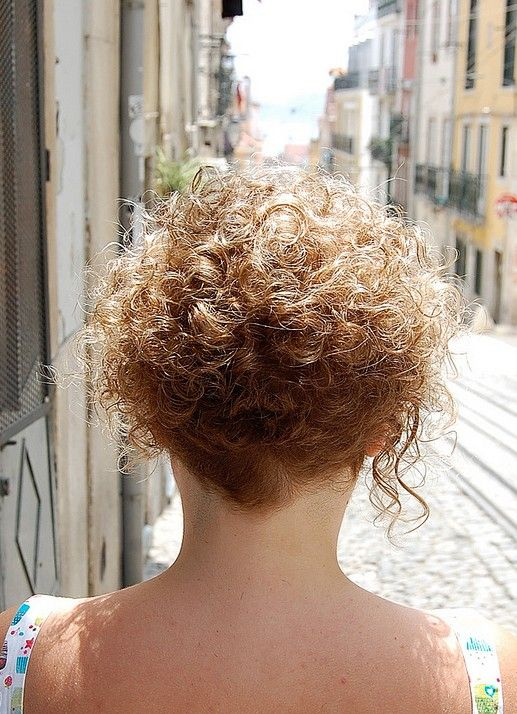 Short Amp Curly Hairstyle For Women Very Girly Sun Kissed