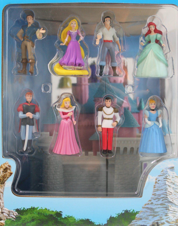 Amazon.com: Disneys Deluxe Sleeping Beauty Castle Playset w/ Figures & Sounds: Toys & Games