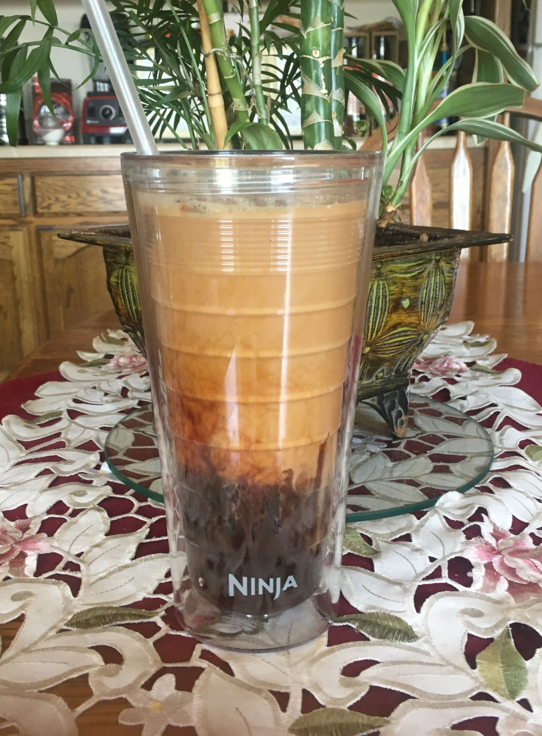 Skinny Chocolate Raspberry Iced Coffee** Ninja coffee
