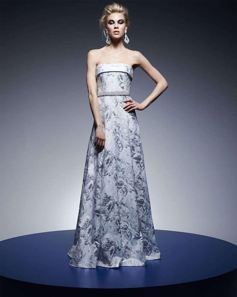 Carmen Marc Valvo Strapless Embellished-Waist Ball Gown   Favor ...