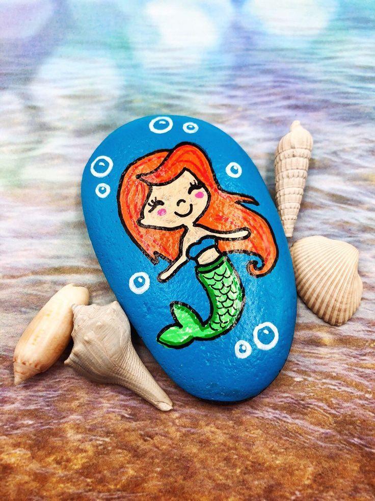 Mermaid stones, Mermaid Rock, Mermaid Party Favors