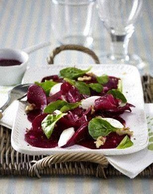 Das Rezept für Rote-Bete-Salat mit Ziegenfrischkäse und weitere kostenlose Rezepte auf LECKER.de