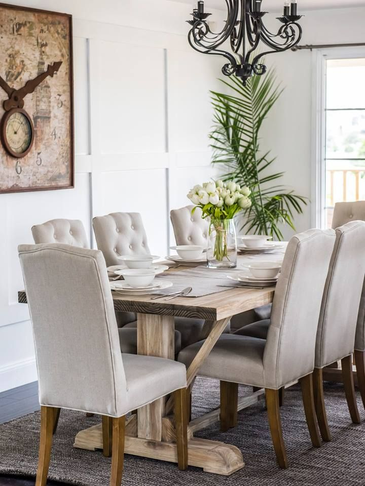 Home Beautiful Pics Hamptons Style Dining Furniture Makeover